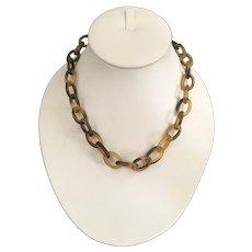 """16"""" Antique Faux Tortoise Necklace"""