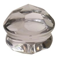 Spectacular Cut Crystal Paper Weight ~ Baccarat Quality