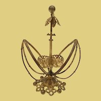 19C French Gilt Ormolu  Scent Casket