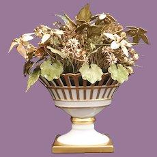 """9 ½"""" Jane Hutcheson Fleurs des Siècles Jeweled Enameled Floral Arrangement  ~ BEAUTIFUL!"""
