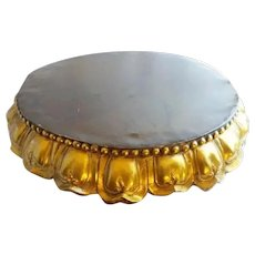 "22"" Antique Bronze Plateau  ~ Just the Perfect Place for a Massive Treasure to SIT!  ~  GRANDEST"