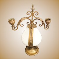 "Wonderful 12 ½"" 1860 Palais Royal Candelabra Scent Casket #2"