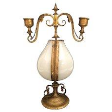 """Huge 12 ½"""" 1860 Palais Royal Candelabra Scent Casket"""