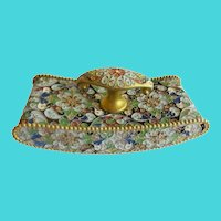 Antique French Cloisonné Blotter ~ A DESK Gem for a Beautiful Desk.