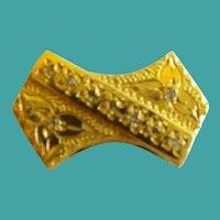 Vintage Estate 14KARAT Diamond Add a Slide ~ BEAUTIFUL Yellow Gold!