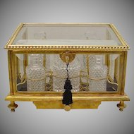 "Grandest Antique Baccarat Scent Casket ""EXQUISITE & BIG"""