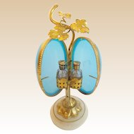 """7""""  Palais Royal Scent Casket """" BLUE OPALINE"""""""