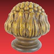 """BIG Antique Bronze Newel Post Final  """"BRONZE FLOWER"""""""