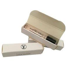 Louis Vuitton Miniature Boxed Perfume           Three 9E01 Eau de Purum