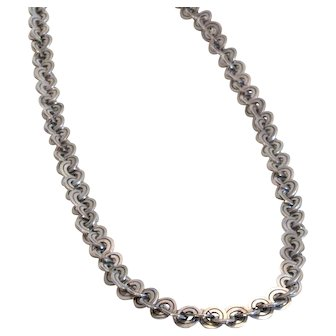 Vintage 1950s William Spratling Silver Necklace