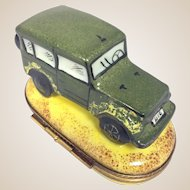 Limoges Trinket Box- Range Rover 4 x 4 - Retired Design