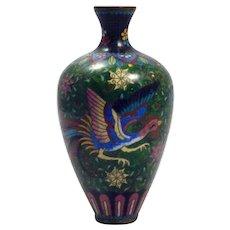 Meiji Period (1868-1912) Cloisonné Vase