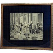 19th Century French Silk Tapestry, Neyret Frères Co. by Alonso Perez