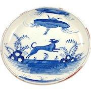 Very Large Antique Asian Porcelain Platter/Bowl