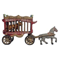 Vintage 1930's Overland Circus Toy