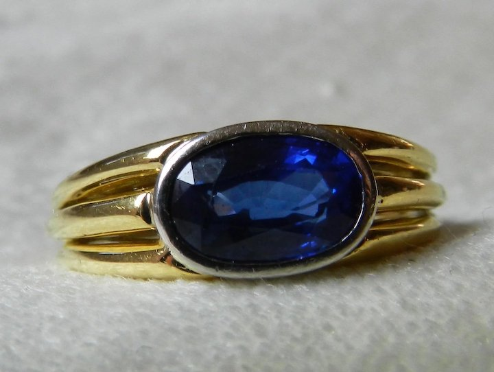 blue birthstone yellow diamond media september ct ring engagement gold sapphire genuine