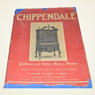 """1938 Publication of Thomas Chippendale's- """"The Gentleman and Cabinet Maker's Director"""""""