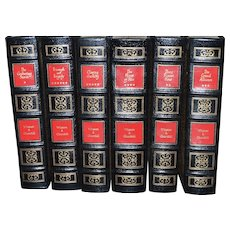 The Second World War by Winston Churchill Leather Bound 6 Volume Set