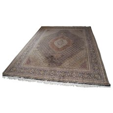 Hand Knotted Persian Tabriz Rug in the Herati/Mahi Pattern - Red Tag Sale Item