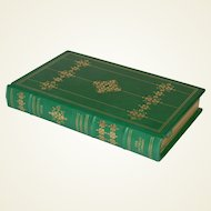 """""""Winesburg, Ohio"""" by Sherwood Anderson Leather Bound Book"""