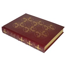 """""""The Confessions of Saint Augustine"""" In the translation of J. G. Pilkington, Leather Bound Book"""
