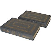 """""""John Marshall- A Life in Law"""" by Leonard Baker, Two-Volume Leather-Bound Set"""