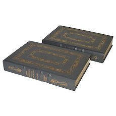 """John Marshall- A Life in Law"" by Leonard Baker, Two-Volume Leather-Bound Set"