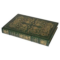 """""""My Ántonia"""" by Willa Cather, Leather Bound Book"""