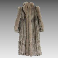 Vintage Oscar de la Renta ¾ Length Mink Coat