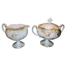 RS Prussia Sugar and Creamer