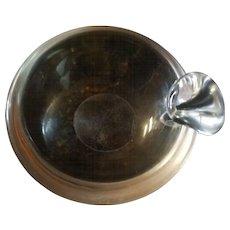 """Steuben Ashtray/Nut Bowl 4 ¼"""" X 1 ½"""""""