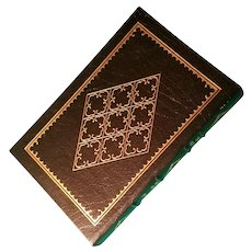 """""""The Survival of Charles Darwin"""" by Ronald W. Clark, A Leather-Bound Book Published by Easton Press"""
