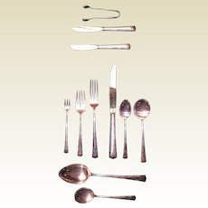 Greenbrier by Gorham Sterling Silver Flatware Set 59 Pcs.