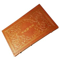 """""""The Analects of Confucius"""" Translation by Lionel Gills, A Leather-Bound Book Published by Easton Press"""