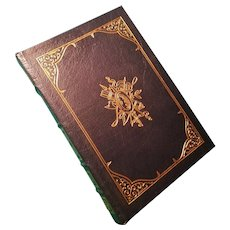 """De Gaulle"" by Brian Crozier, A Leather-Bound Book Published by Easton Press"