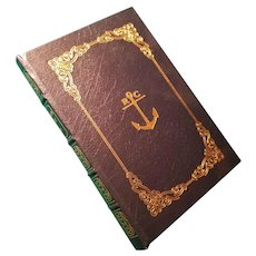 """Robinson Crusoe"" by Daniel Defoe, A Leather-Bound Book Published by Easton Press"