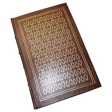 """""""The Last of the Mohicans"""" by James Fenimore Cooper, A Leather-Bound Book Published by Easton Press"""