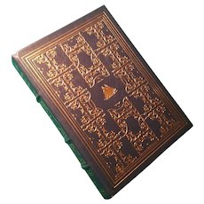 """""""Two Years Before the Mast"""" by Richard Henry Dana, A Leather-Bound Book Published by The Franklin Library"""