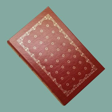 """""""The Divine Comedy"""" by Dante Alighieri, A Leather-Bound Book Published by The Franklin Library"""