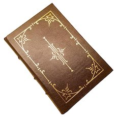 """The Short Stories"" by Charles Dickens, A Leather-Bound Book Published by The Easton Press"