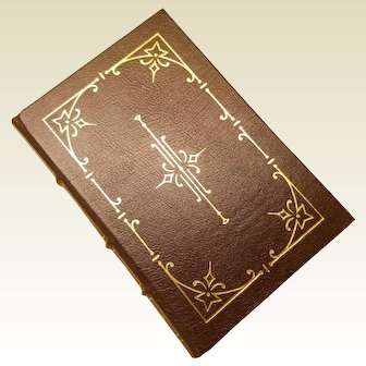 """""""The Short Stories"""" by Charles Dickens, A Leather-Bound Book Published by The Easton Press"""