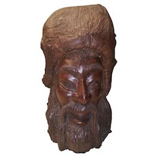 A Very Nice Hand Carved Ironwood Mountain Man by John Ford