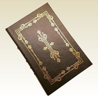"""The Course of Empire"" by Bernard DeVoto, A Leather-Bound Book Published by The Easton Press"