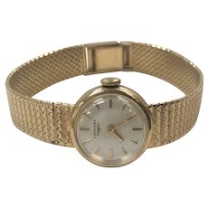 Vintage Wind-Up Longines Ladies Watch in 18K Yellow Gold