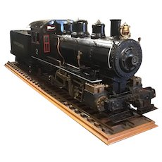"5"" gauge Live Steam locomotive."