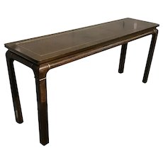 Mid-century modern console table by John Stuart.