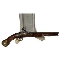 British Sea Service Flintlock Pistol.