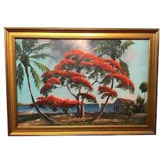 A Highwayman painting by Lemuel Newton.