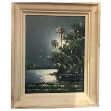 Original Highwaymen oil painting by Willie Daniels