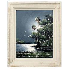 Original Highwaymen oil painting by Hall of Fame artist Willie Daniels.